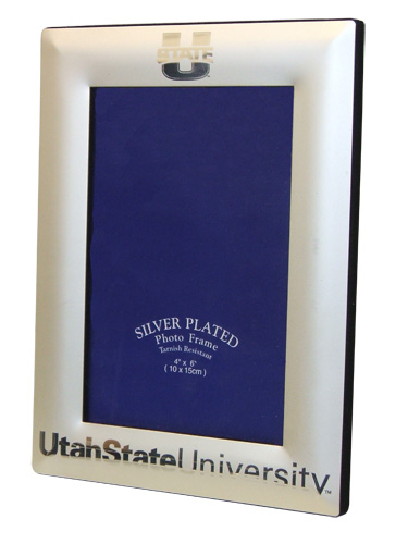 U State Silver Picture Frame