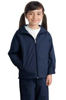 Aggie Youth Hooded Raglan Jacket