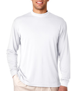 USU Mens Tech LS Mock Turtleneck