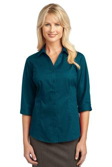 USU Ladies P.A. 3/4 Sleeve Blouse