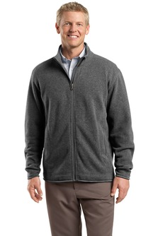 USU Mens Sweater Fleece Full-Zip Jacket