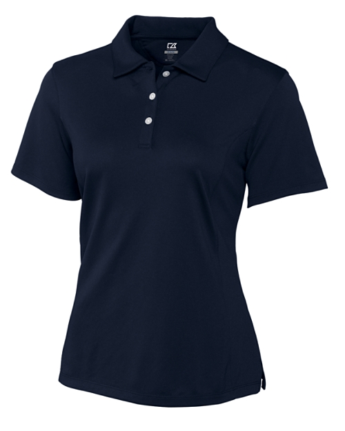 USU Ladies CB DryTec Kingston Pique Polo
