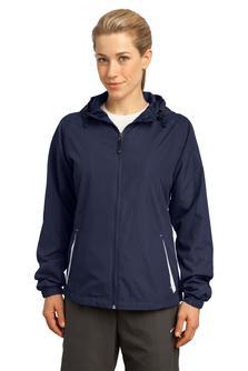 Aggie Ladies Colorblock Hooded Jacket