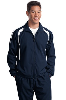 USU Mens Colorblock Raglan Jacket
