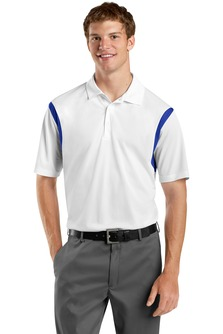 USU Mens Back Blocked Micropique Sport-Wick Polo