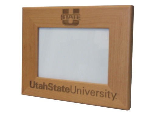 U State Wooden Picture Frame