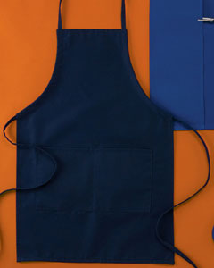 "USU Navy Two Pocket 30"" Apron"