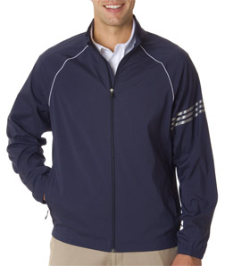Aggie Mens 3-Stripes Full Zip Jacket