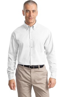 USU Men's LS Cotton Twill Shirt