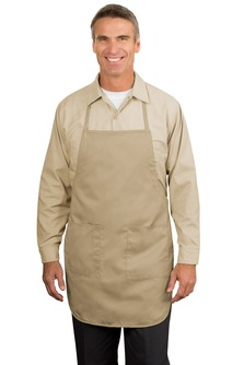 Aggies Full Length Khaki Apron