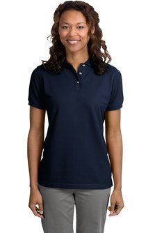 Utah State Ladies Pique Knit Polo