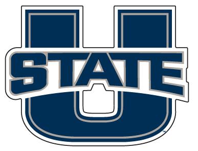 """U State 18"""" Car magnet"""