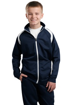 Aggie Youth Tricot Track Jacket