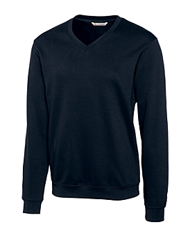 USU Mens Journey Supima Flatback V-Neck