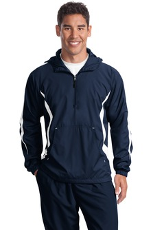 Aggie Men's Colorblock Raglan Anorak