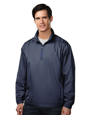 Aggie Mens Bloomfield 1/4 Zip Windshirt