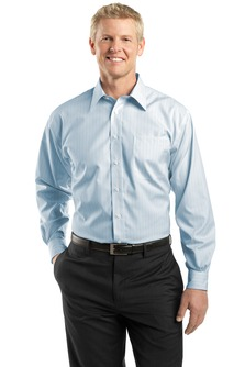 Utah State Non-Iron Fine Line Button Down Shirt