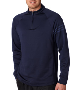 USU Mens Half Zip Training Top