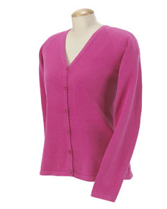USU Ladies Six Button Cardigan