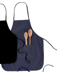 "USU Navy Two Pocket 28"" Apron"