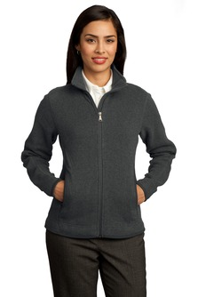 USU Womens Sweater Fleece Full-Zip Jacket