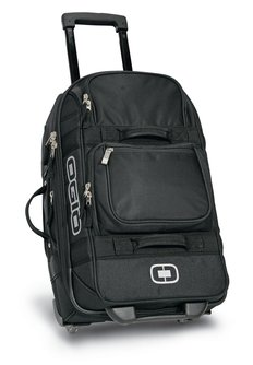 USU Ogio Black Layover Travel Bag