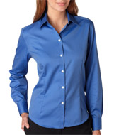 Aggie Ladies LS Non Iron Pinpoint Oxford Shirt